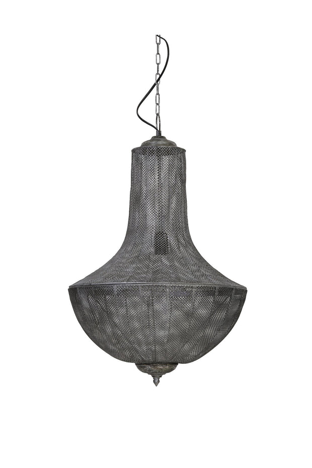 Keladi Hanging Light | Antique Grey