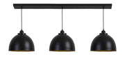 Kylie Hanging Light | Matt Black & Gold