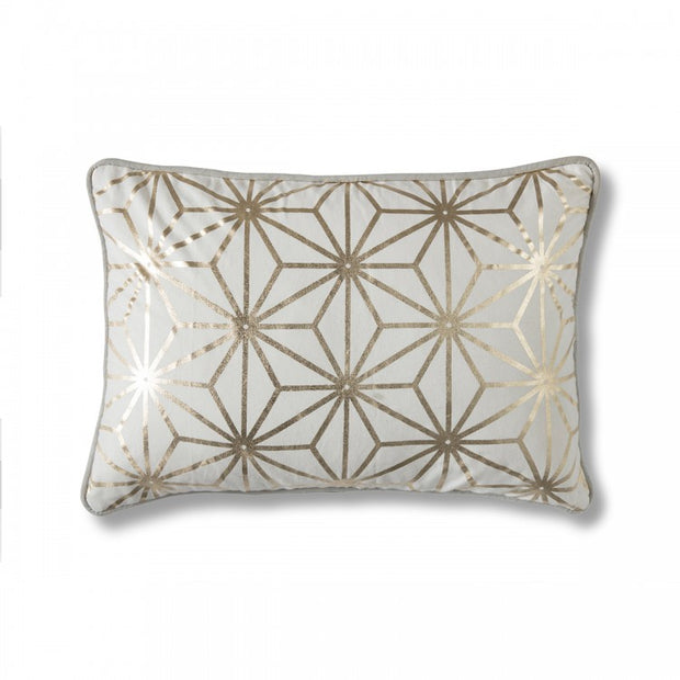 Diamond Geo Cushion Gold
