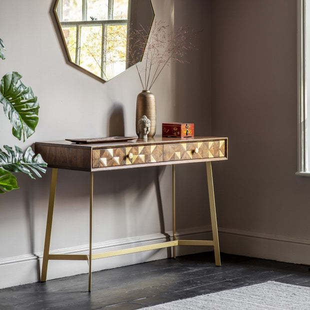 Bullion Wooden Console Table