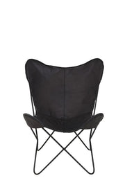 Dexter Leather Chair |  Black