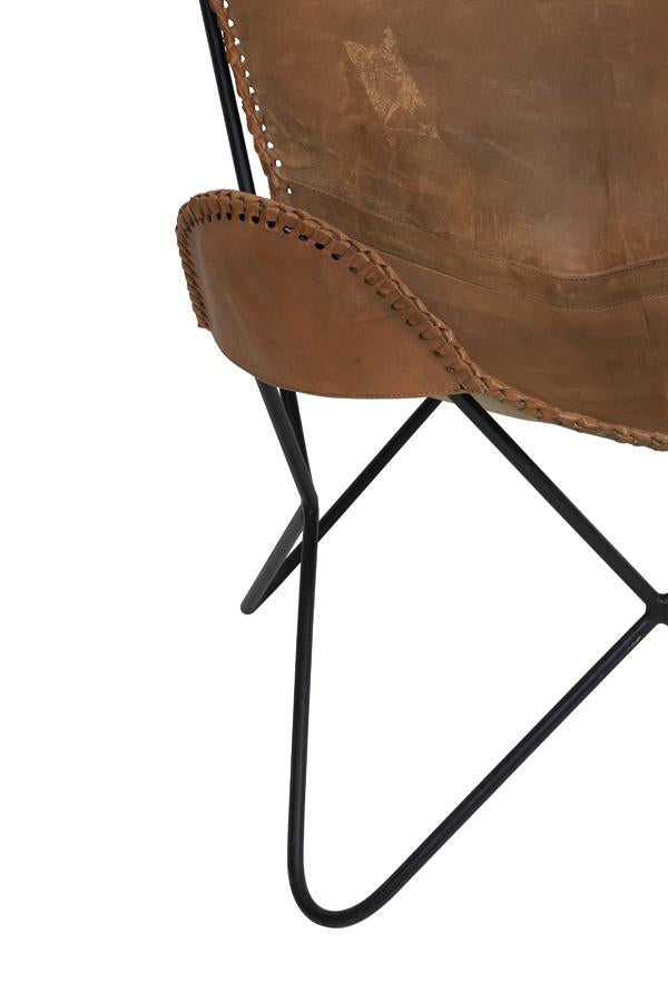 Dexter Leather Chair | Brown