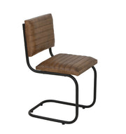 Eastwood Leather Dining Chair | Brown