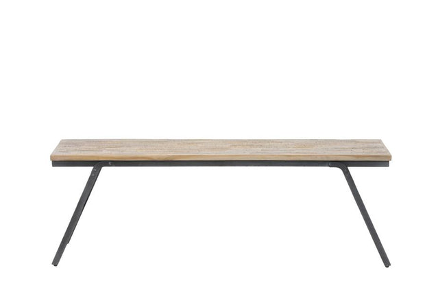 The Old Mill Reclaimed Wood Dining Bench | 133 x 40cm