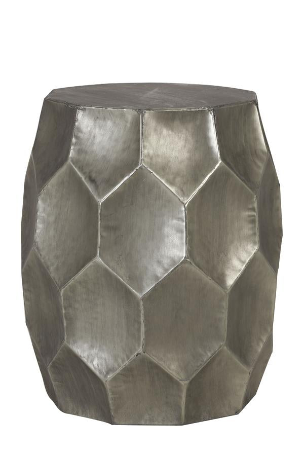 Kalan Side Table | Antique Silver