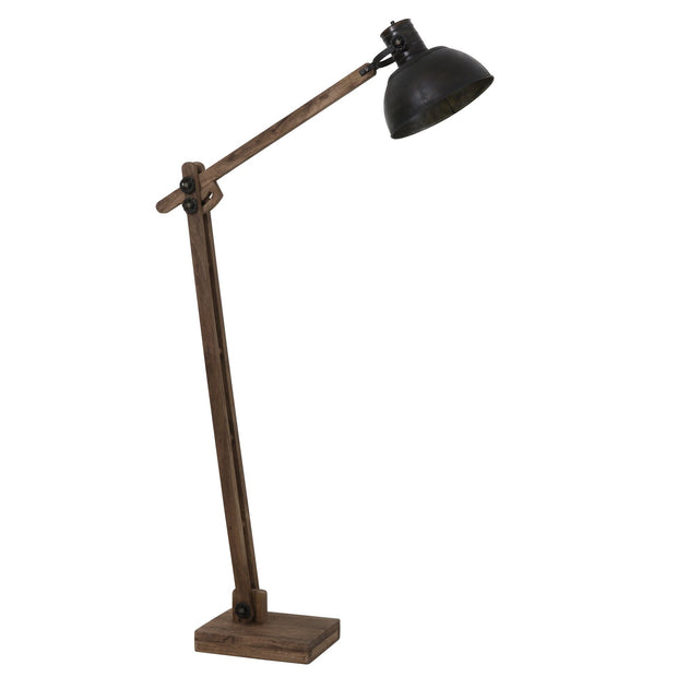 Ekerd Wooden Floor Lamp | Black