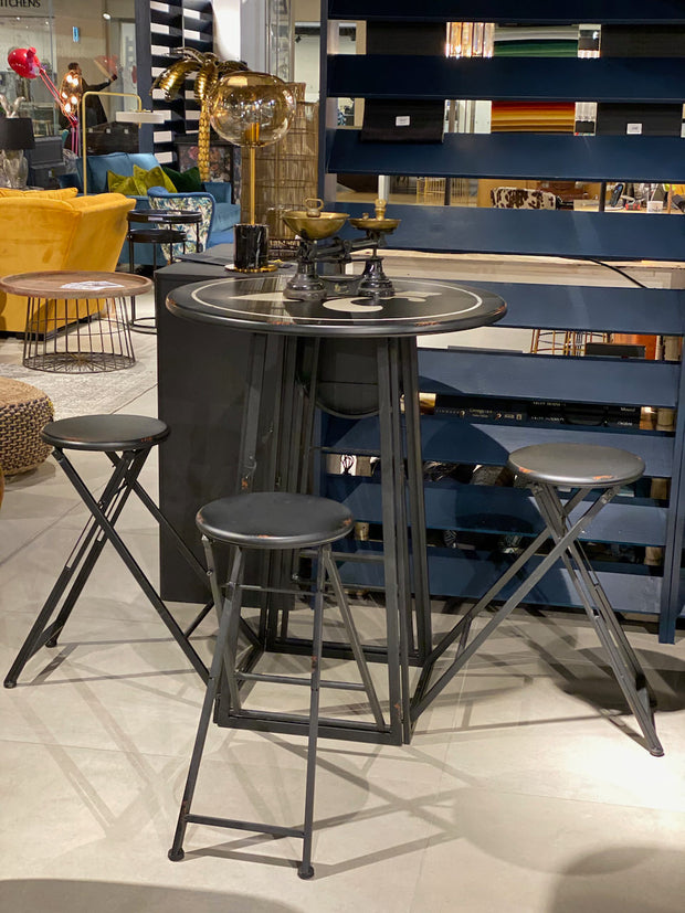 Campjack Metal Folding Bar Table | 4 seat