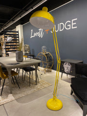 Extra Large Desk Style Floor Lamp | Yellow