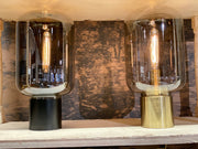 Arturan Tall Table Lamp | Smoke and Bronze