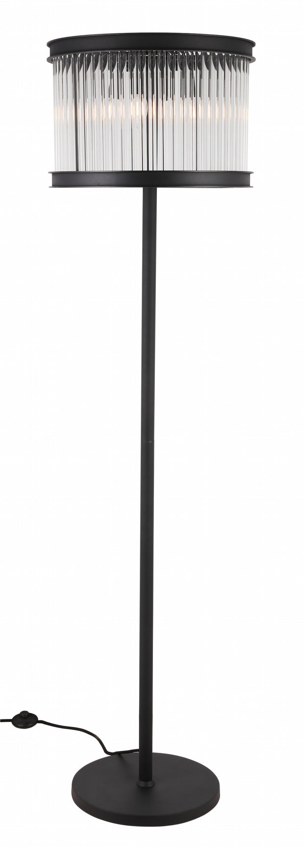 Crystal Rods Floor Lamp