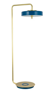 Trentino Floor Lamp | Blue and Gold