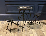 Campjack Metal Folding Bar Table | 2 seat
