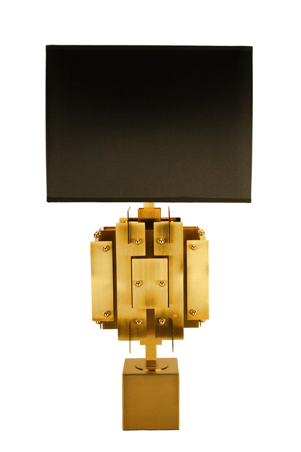 Golden Slice Table Lamp