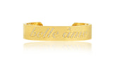 Stephen Russell 18K Gold & Diamond Bangle