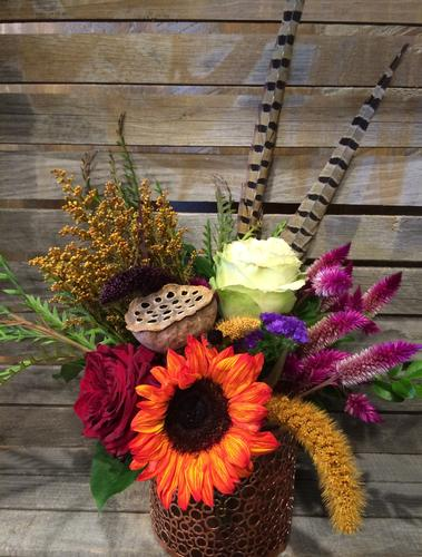 Harvest Celebration Flower Bouquet