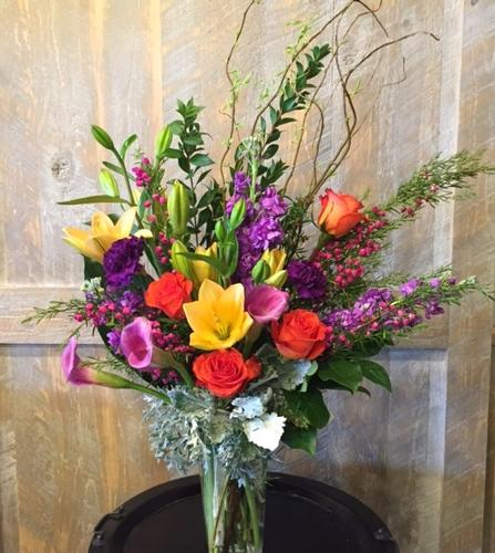 Cheerful Spirit Flower Bouquet