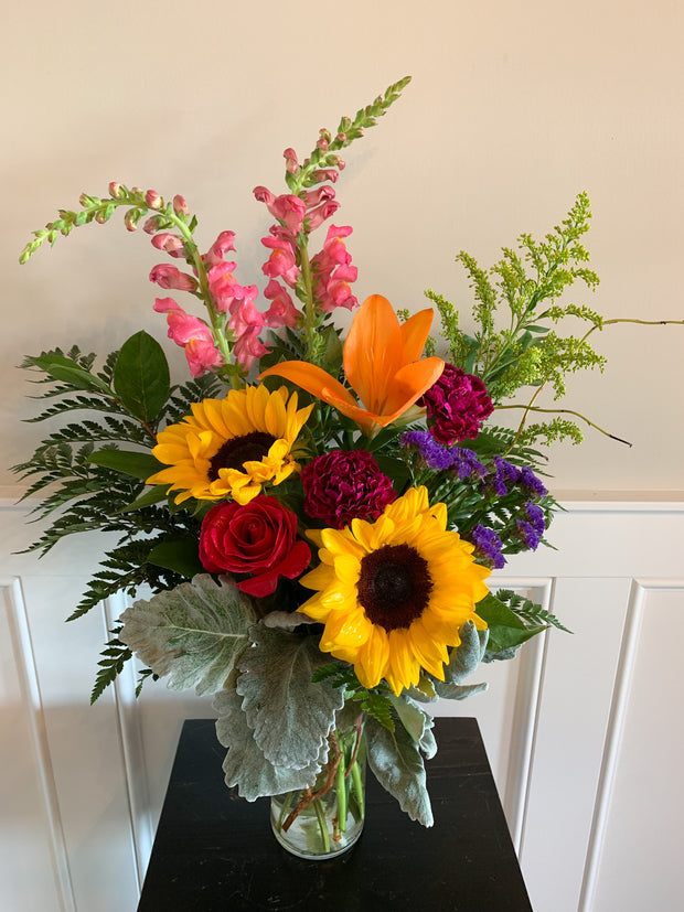 Modern Country Flower Bouquet