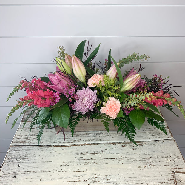 Spring Box Flower Bouquet