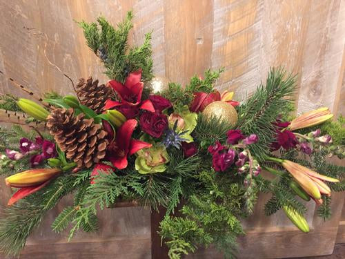 O' Holy Night Flower Bouquet