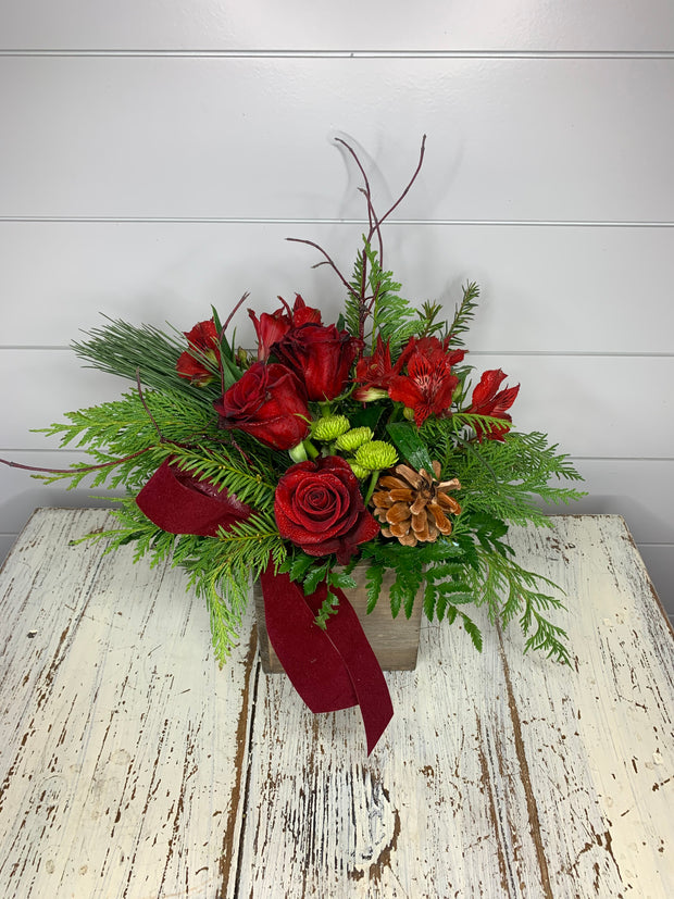 Home for the Holidays Flower Bouquet