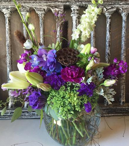 Lavender Twist Flower Bouquet