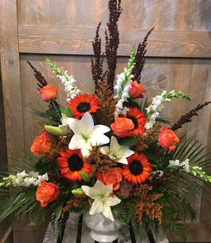 Orange Kisses Flower Bouquet