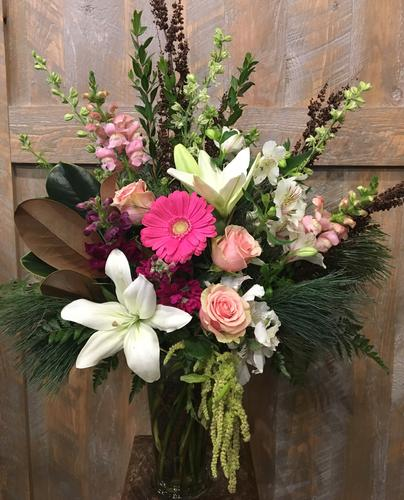 Pink Lady Flower Bouquet