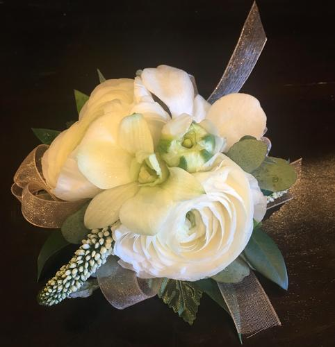White Magic Corsage
