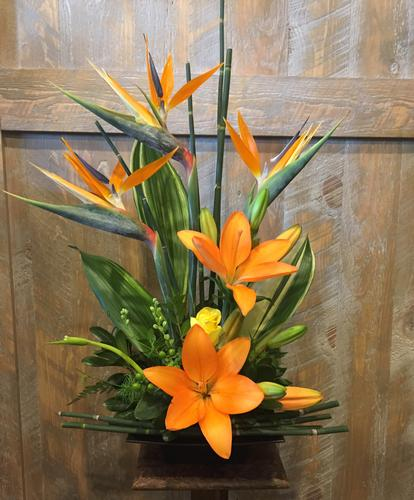 Birds of Paradise Flower Bouquet