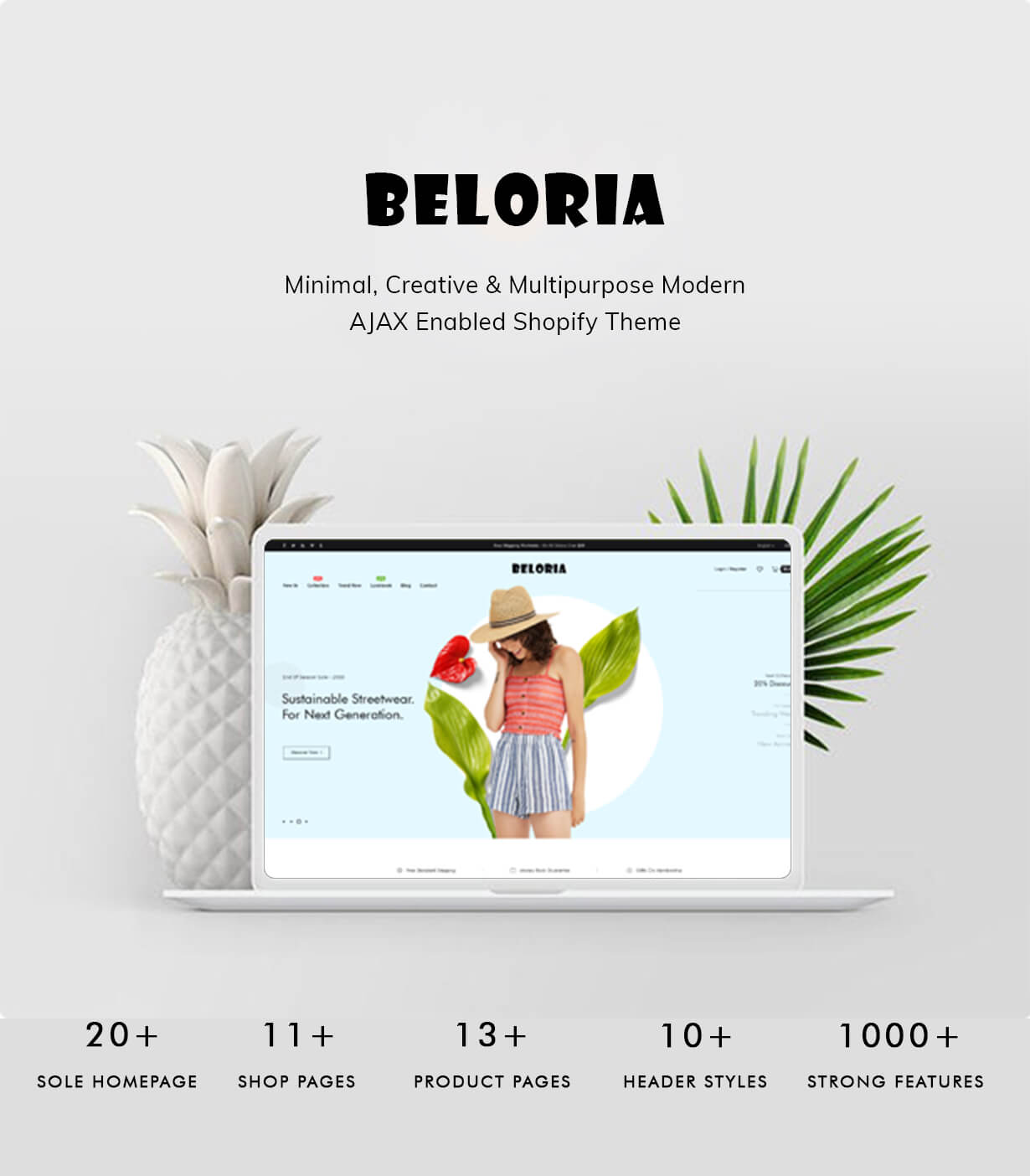 Welcome to Beloria Shopify theme