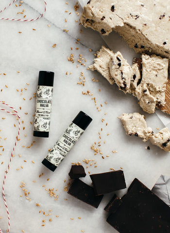 Chocolate Halva Lip Balm