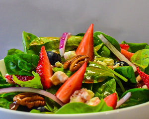 Spinach Mixed Berry Salad