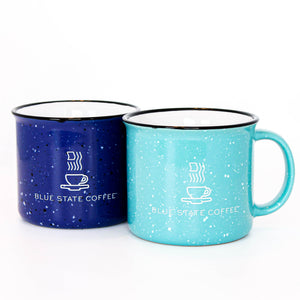 Blue State Coffee Ceramic Campfire Mug