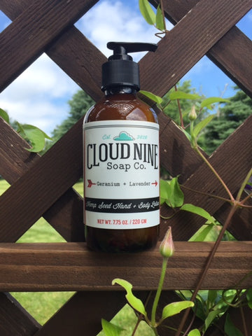 How Is Lotion Made? | Cloud Nine Soap Co
