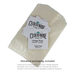 cloud nine soap co. standard packaging
