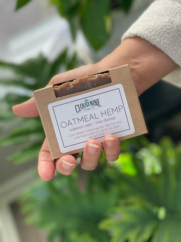 Oatmeal Hemp: Organic Oats + Raw Honey