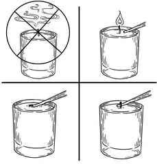 Candle Wick Dipper (Smokeless Candle Extinguisher)