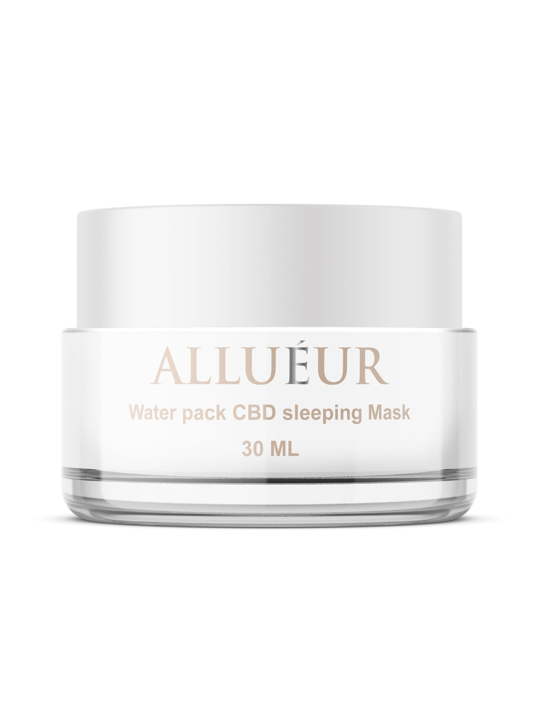 Allueur water pack cbd sleeping mask 30 ml