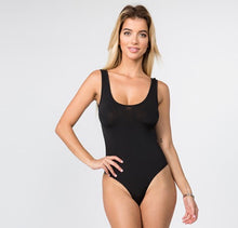Load image into Gallery viewer, Black Slinky bodysuit