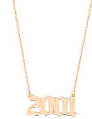 D.O.B Necklaces