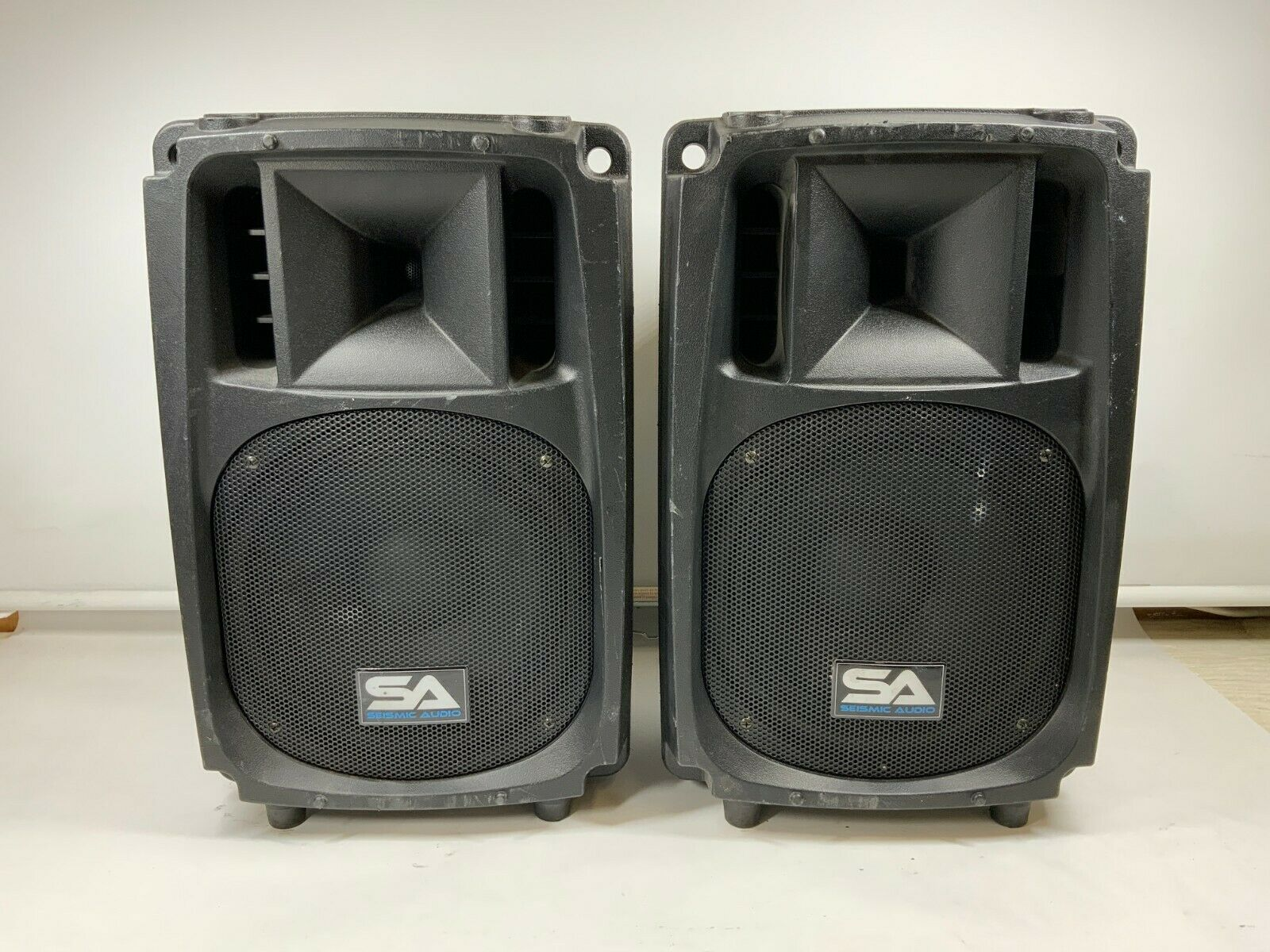 "Seismic Audio Pair 10"" S Wave-10 400 watts loudpeaker speaker"