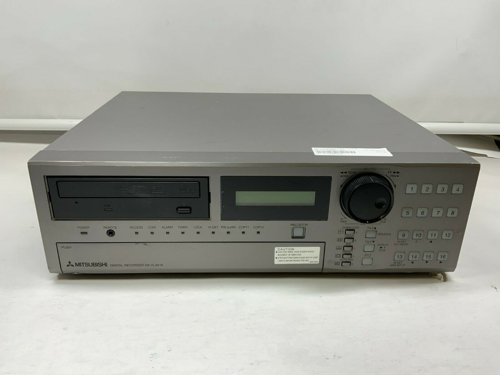 Mitsubishi DX-TL4516E 16 Channel Digital Video Recorder