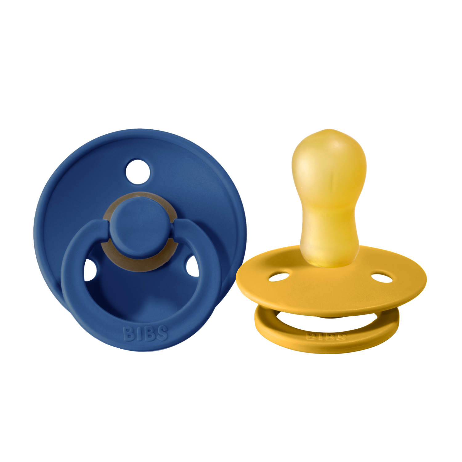 Bibs pacifier +18M 2-pack midnight + mustard