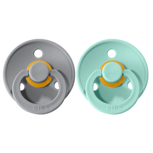 Bibs pacifier +18M 2-pack mint + cloud