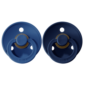 Bibs pacifier 0-6 M 2-pack midnight + deep space