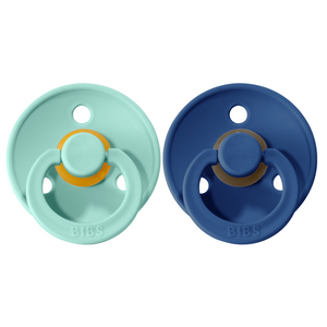 Bibs pacifier +18M 2-pack midnight + mint