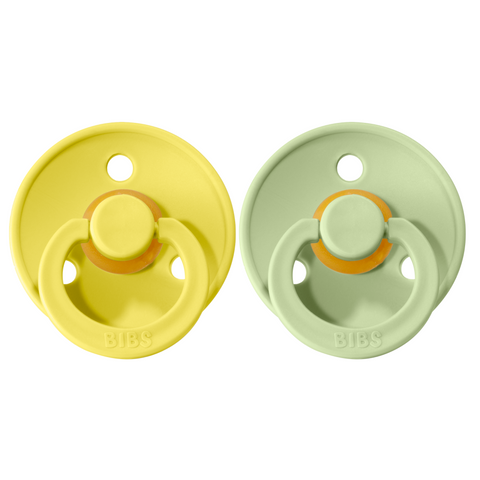 Bibs pacifier 0-6 M 2-pack pineapple-pistachio