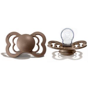 Bibs supreme pacifier silicone +6M dark oak