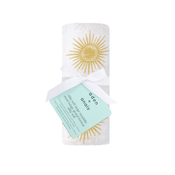 Golden sun silky soft muslin