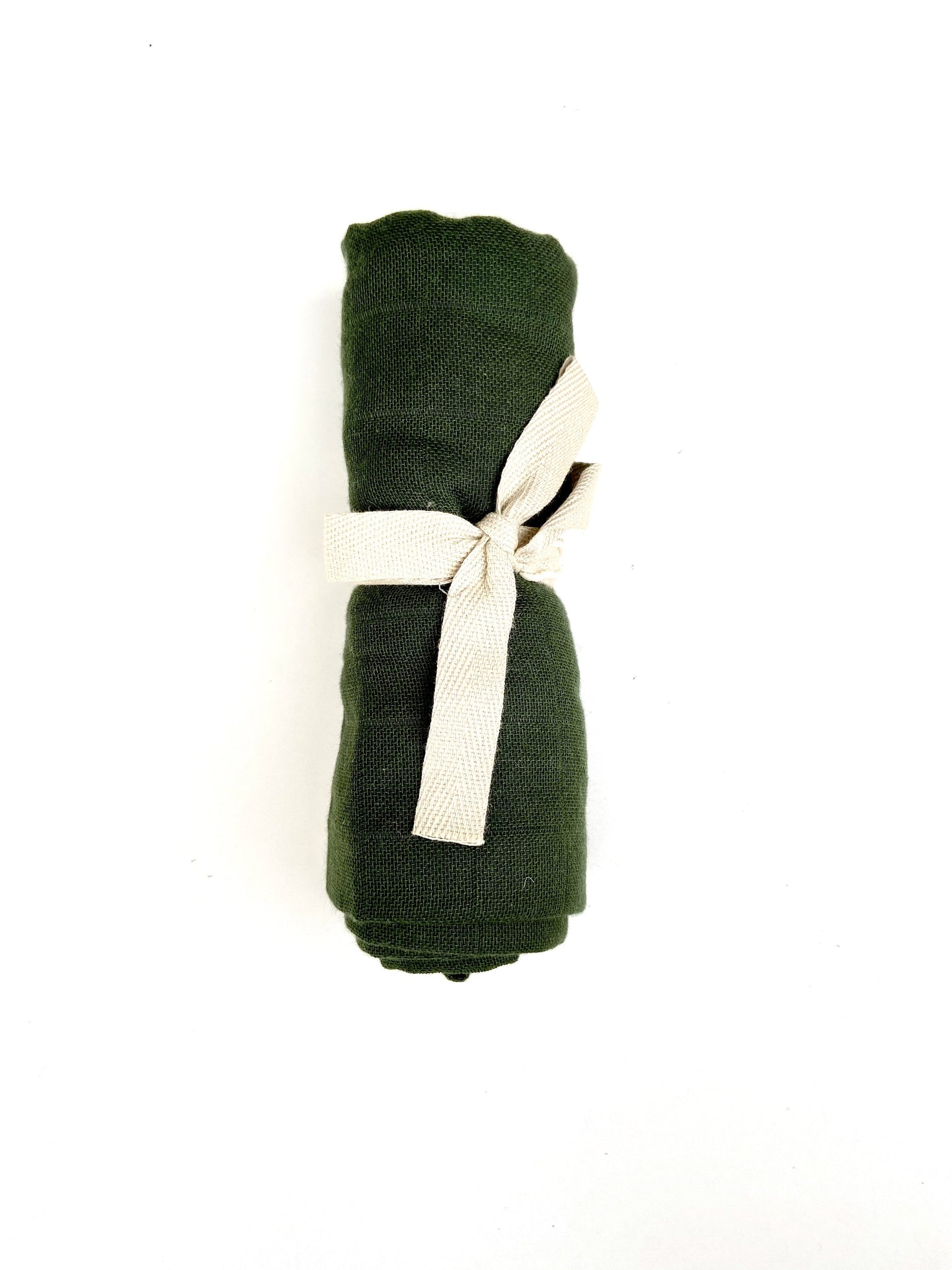 Muslin dark green Filibabba